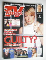 <!--2004-01-17-->TV Times magazine - Emma Atkins cover (17-23 January 2004)