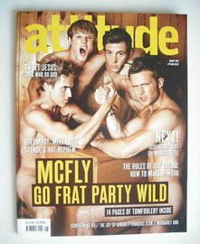 <!--2010-08-->Attitude magazine - McFly cover (August 2010)
