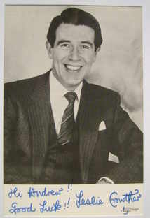 Leslie Crowther autograph