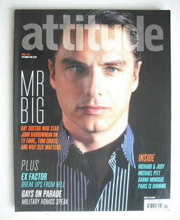 <!--2005-09-->Attitude magazine - John Barrowman cover (September 2005)