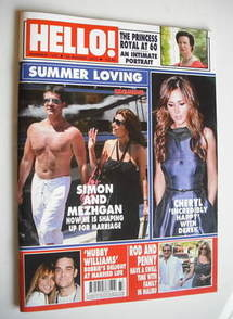 <!--2010-08-23-->Hello! magazine - Summer Loving cover (23 August 2010 - Is