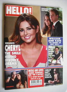 <!--2010-08-30-->Hello! magazine - Cheryl Cole cover (30 August 2010 - Issu