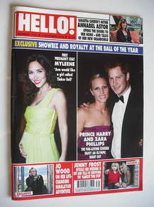 <!--2010-10-04-->Hello! magazine - Myleene Klass, Prince Harry and Zara Phi