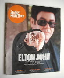 The Observer Music Monthly magazine - September 2004 - Elton John cover