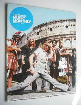 The Observer Music Monthly magazine - August 2004 - The Darkness cover