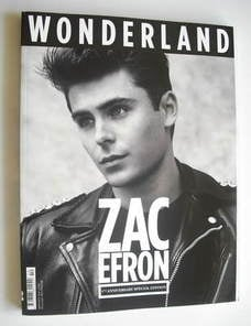 Wonderland magazine - September/October 2010 - Zac Efron cover