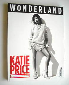 Wonderland magazine - September/October 2010 - Katie Price cover