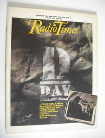 <!--1984-06-02-->Radio Times magazine - D-Day cover (2-8 June 1984)