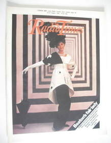 <!--1984-08-18-->Radio Times magazine - Audrey Hepburn cover (18-24 August