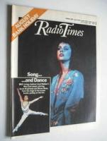 <!--1984-08-25-->Radio Times magazine - Sarah Brightman and Wayne Sleep cover (25-31 August 1984)