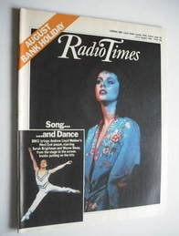 <!--1984-08-25-->Radio Times magazine - Sarah Brightman and Wayne Sleep cov