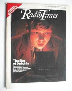 <!--1984-11-17-->Radio Times magazine - Devin Stanfield cover (17-23 Novemb