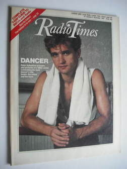 <!--1984-10-27-->Radio Times magazine - Peter Schaufuss cover (27 October -
