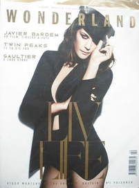 <!--2009-02-->Wonderland magazine - February/March 2009 - Liv Tyler cover