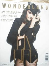 Wonderland magazine - February/March 2009 - Liv Tyler cover