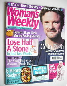 <!--2011-01-11-->Woman's Weekly magazine (11 January 2011 - Colin Firth cov