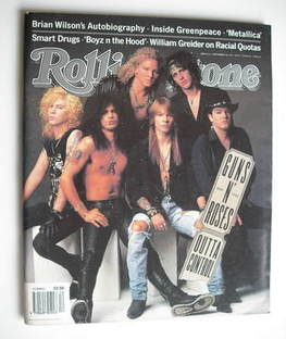 Rolling Stone magazine - Guns N' Roses cover (5 September 1991)