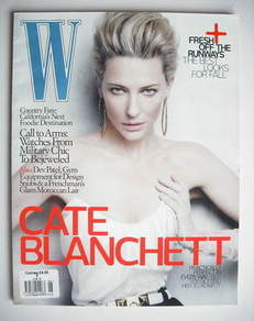 <!--2010-06-->W magazine - June 2010 - Cate Blanchett cover