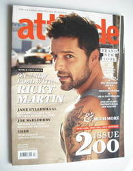 <!--2011-01-->Attitude magazine - Ricky Martin cover (January 2011)
