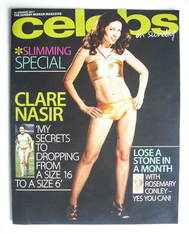 <!--2011-01-16-->Celebs magazine - Clare Nasir cover (16 January 2011)
