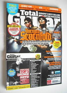 Total Guitar magazine - Avenged Sevenfold cover (September 2010)