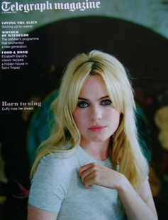 <!--2010-10-02-->Telegraph magazine - Duffy cover (2 October 2010)