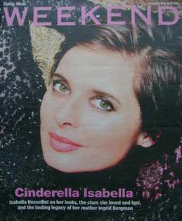 <!--2006-04-29-->Weekend magazine - Isabella Rossellini cover (29 April 2006)
