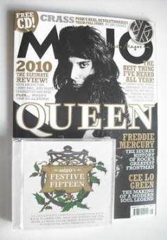 MOJO magazine - Freddie Mercury cover (January 2011 - Issue 206)