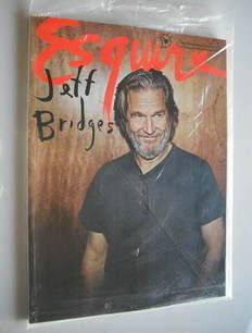 Esquire magazine - Jeff Bridges cover (January 2011 - Subscriber's Issue)