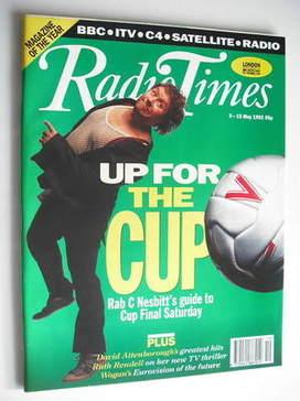 <!--1992-05-09-->Radio Times magazine - Rab C Nesbitt cover (9-15 May 1992)