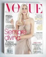 <!--2010-01-->Vogue Espana magazine - January 2010 - Aline Weber cover