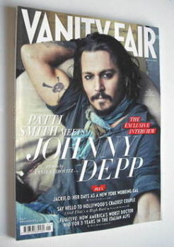 Vanity Fair magazine - Johnny Depp cover (January 2011)