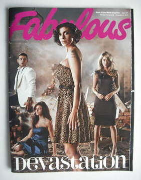 <!--2010-12-05-->Fabulous magazine - Coronation Street cover (5 December 20