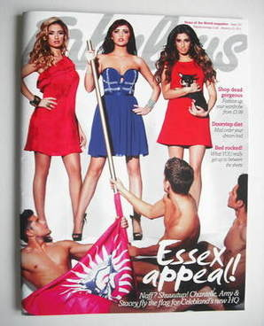 <!--2011-01-23-->Fabulous magazine - Essex Appeal cover (23 January 2011)