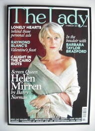 <!--2011-02-08-->The Lady magazine (8 February 2011 - Helen Mirren cover)