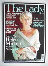 The Lady magazine (8 February 2011 - Helen Mirren cover)
