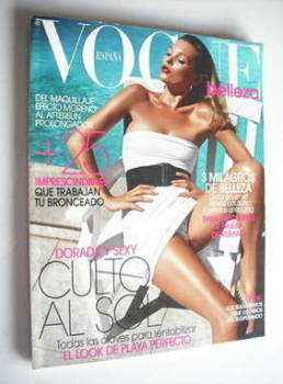 Vogue Belleza (Espana) magazine 2010 - Kate Moss cover
