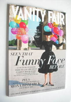 Vanity Fair On Couture magazine supplement - Kaya Scodelario cover (Novembe