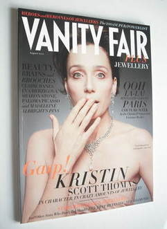 Vanity Fair Jewellery magazine supplement (August 2010 - Kristin Scott Thom