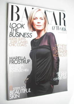 Harper's Bazaar supplement - Bazaar At Work (October 2010 - Mariella Frostr