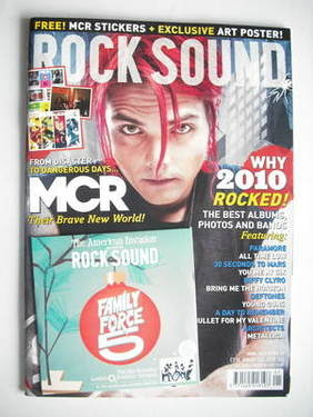 <!--2011-01-->Rock Sound magazine - Gerard Way cover (January 2011)