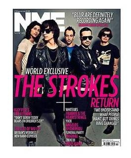 <!--2011-02-19-->NME magazine - The Strokes cover (19 February 2011)