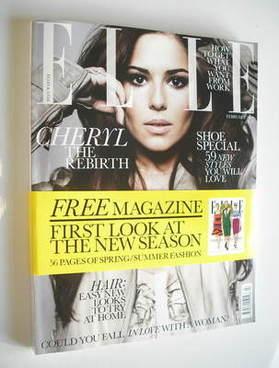 <!--2011-02-->British Elle magazine - February 2011 - Cheryl Cole cover