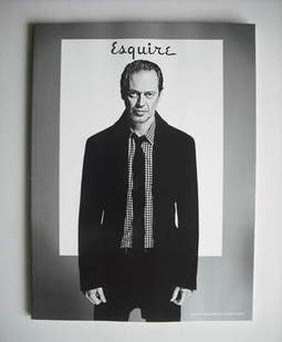 <!--2011-02-->Esquire magazine - Steve Buscemi cover (February 2011 - Subsc