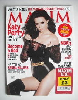Maxim magazine - Katy Perry cover (January 2011 - US Edition)