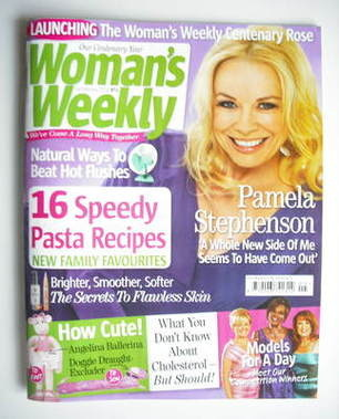 <!--2011-02-01-->Woman's Weekly magazine (1 February 2011 - Pamela Stephens