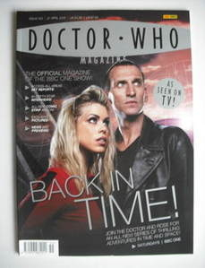 Doctor Who magazine - Christopher Tennant & Billie Piper cover (27 April 2005)