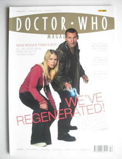 Doctor Who magazine - Christopher Tennant & Billie Piper cover (2 February 2005)