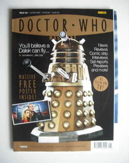 <!--2005-05-25-->Doctor Who magazine - Dalek cover (25 May 2005)