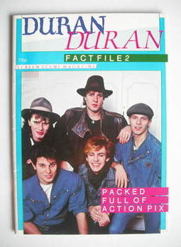 Duran Duran magazine - Fact File 2 (Screen Scene, 1983)